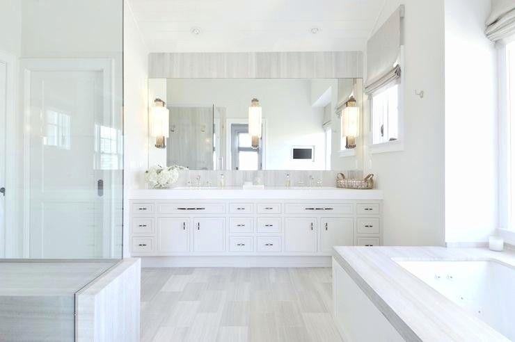 77 Master Bathroom Ideas Bathroomdecoratingideas Bathroomideas Bathroommakeover Bathroomr Modern White Bathroom Bathroom Tile Designs Light Grey Bathrooms