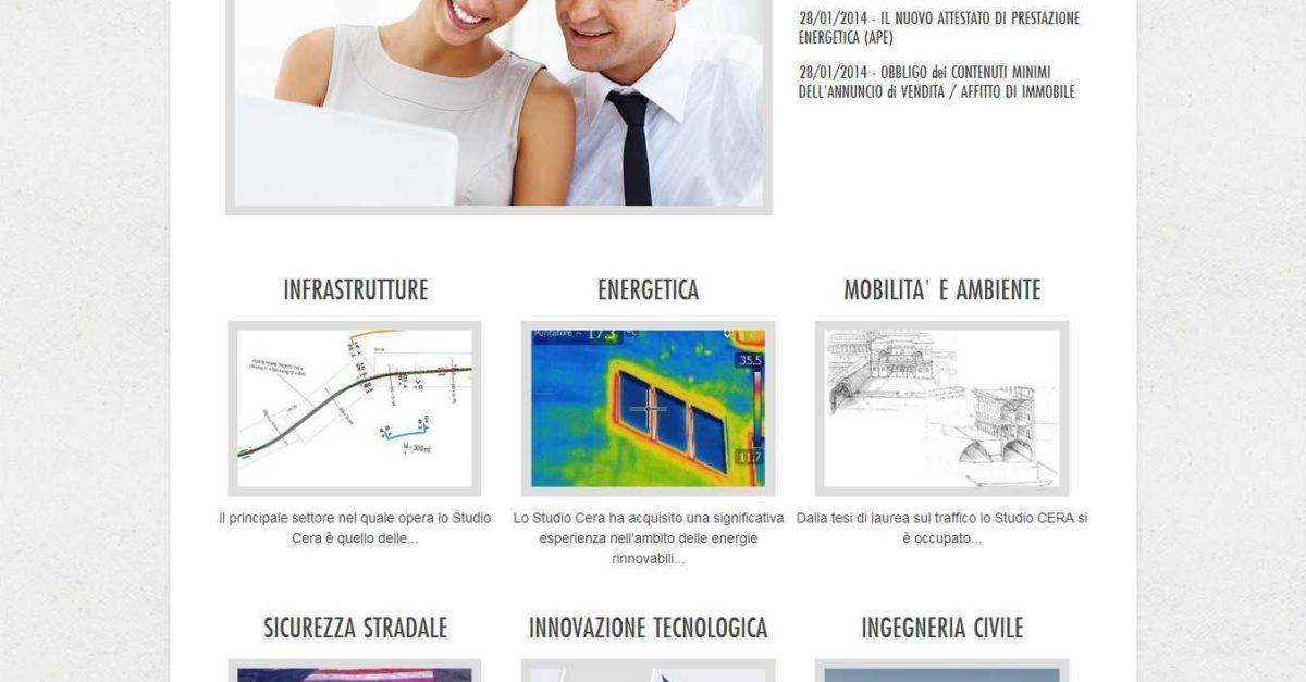 Creazione Sito Giulianova Studio Cera Ingegneria Ingegneria