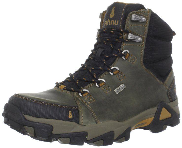 Ahnu Men S Coburn Hiking Boot Dark Olive 7 M Us Boots Hiking Boots Ahnu