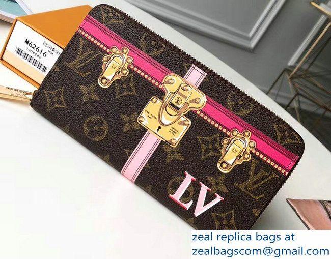 e22f781749b Louis Vuitton Summer Trunks Monogram Canvas Zippy Wallet M62616 2018 ...