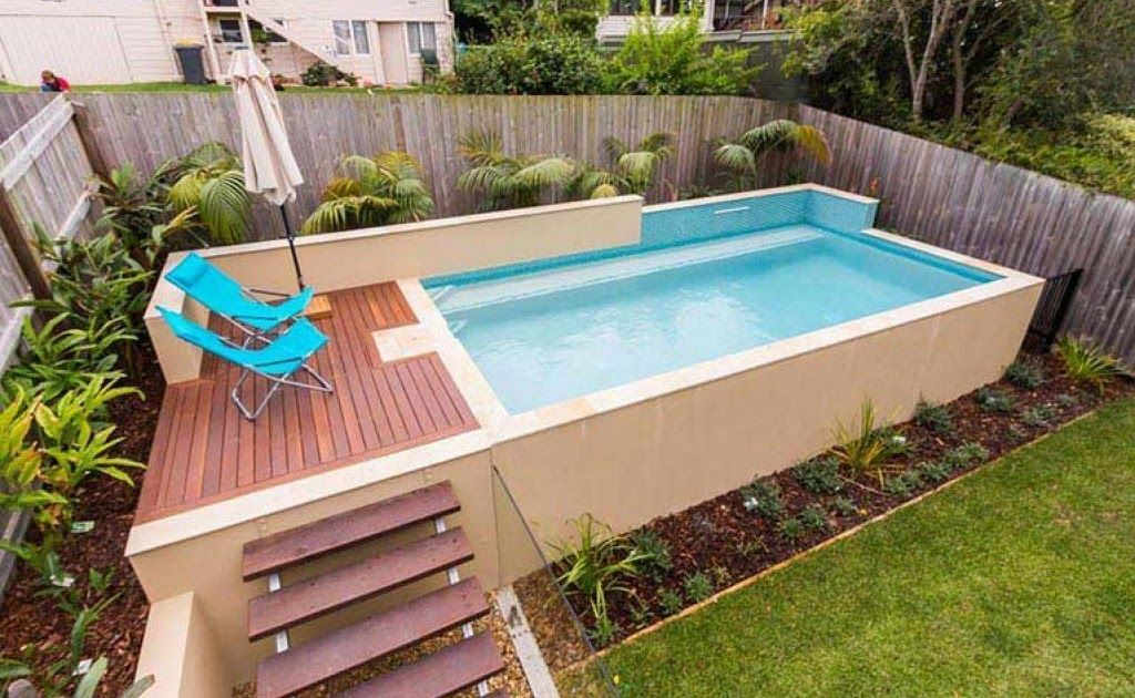 Eye Catching And Affordable Above Ground Swimming Pool In 25 Finest Designs Of Above Ground Swimming In 2020 Small Pool Design Swimming Pools Backyard Rectangle Pool