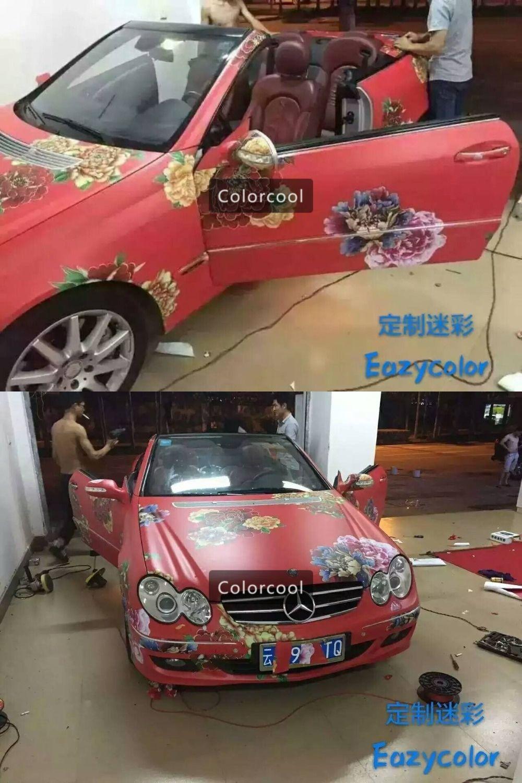 New style custom car sticker bomb camo vinyl wrap car wrap with air release bomb sticker