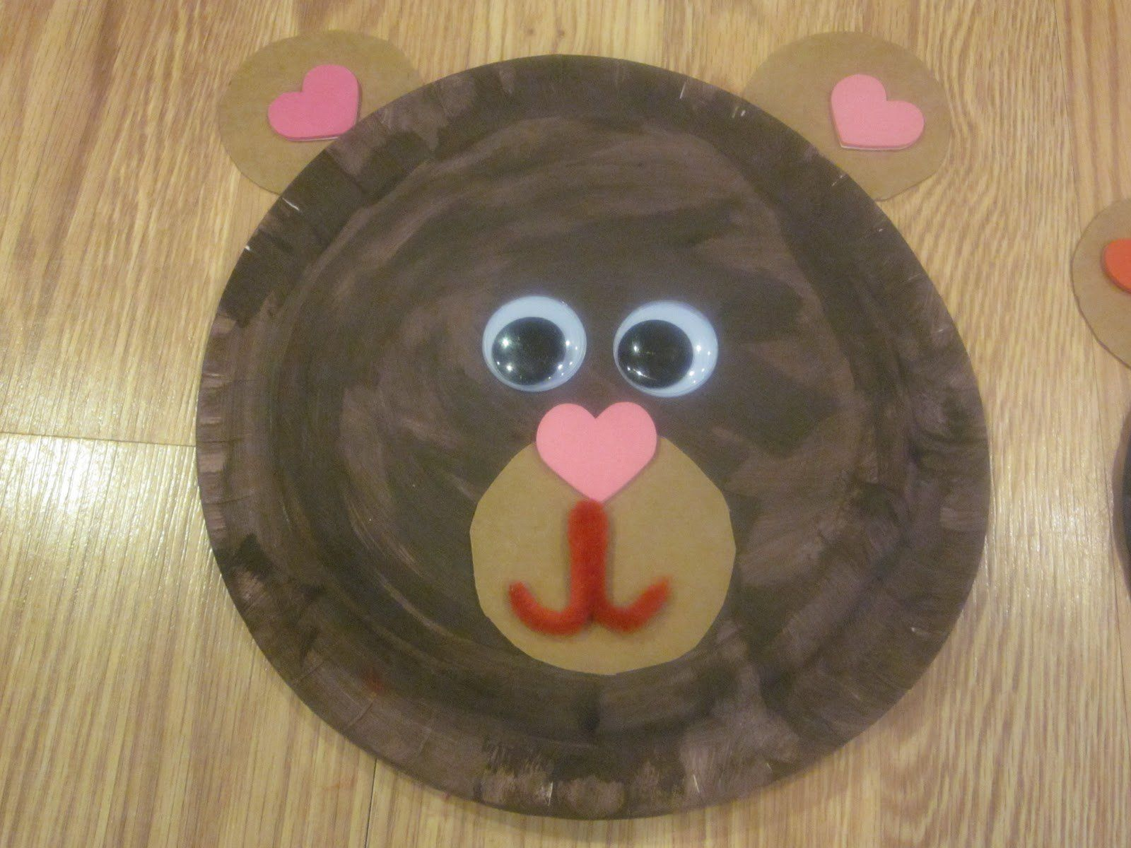 Bear Plate Face We Re Going On A Bear Hunt Activity