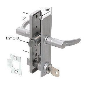 Keyed Aluminum Screen And Storm Door Mortise Latch 3 Screw Holes By C R Laurence 19 44 C R Laurence K5053 Crl Key Aluminum Screen Storm Door Screen Door