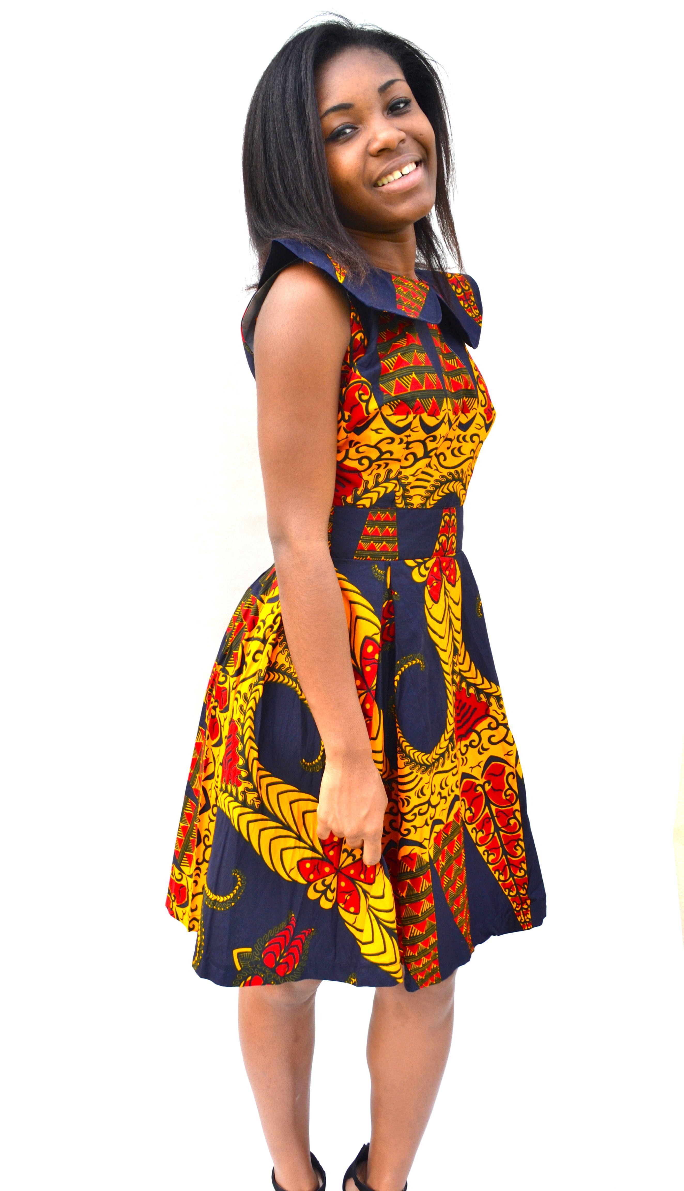 Robe Africaine Moderne