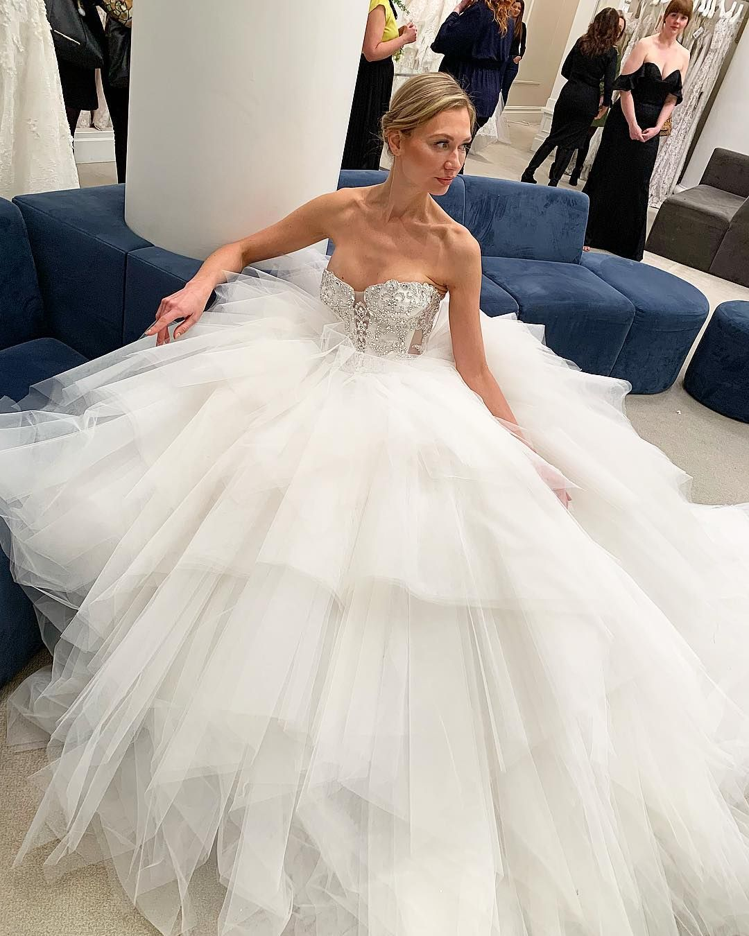Pnina Tornai Ball Gown Wedding Dress Available At Kleinfeld Bridal Wedding Dresses Pnina Tornai Wedding Dress Ball Gowns Wedding