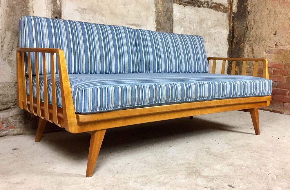 Sofa Knoll Antimott Daybed 50er 60er Vintage Sofa Schlafsofa Mid