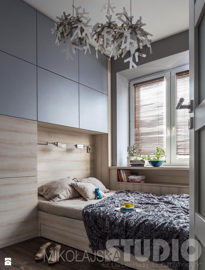 sypialnia ze nie ynkami sypialnia zdj cie od miko ajskastudio mieszkanko in 2018. Black Bedroom Furniture Sets. Home Design Ideas