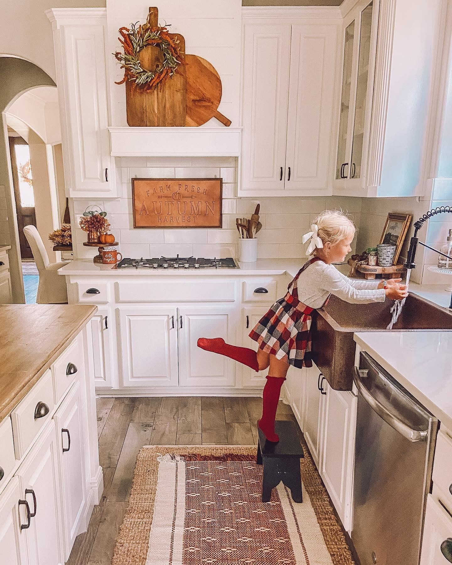 Fall Kitchen Decor Ideas Tap The Image To Shop Orange And Red Fall Decorations Lifebyleanna Fall Kitchen Decor Kirkland Home Decor Fall Kitchen
