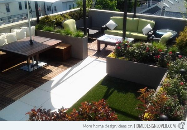 15 modern and contemporary rooftop terrace designs | terrace