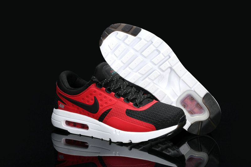Men Nike Air Max Zero Rio Red Black Sport Red TopDeals