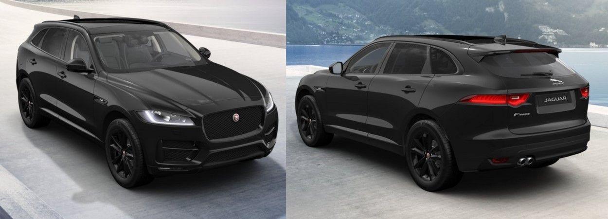 2018 Jaguar F Pace Sport Black Edition Jaguar Suv Jaguar Car Jaguar