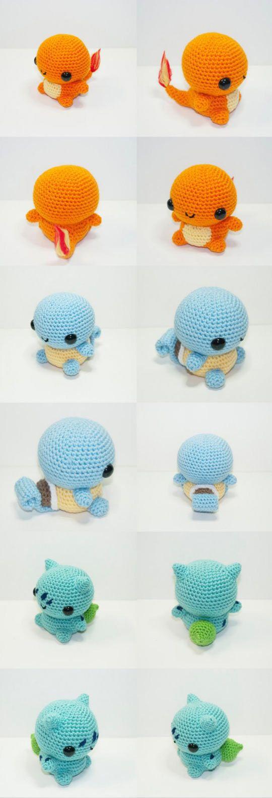 Some Knitted Pokémons | Belenes, Patrones amigurumi y Espere