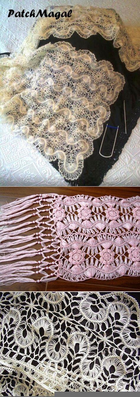 Посты по теме «Вязание на вилк | crochet con horquilla, me encanto ...