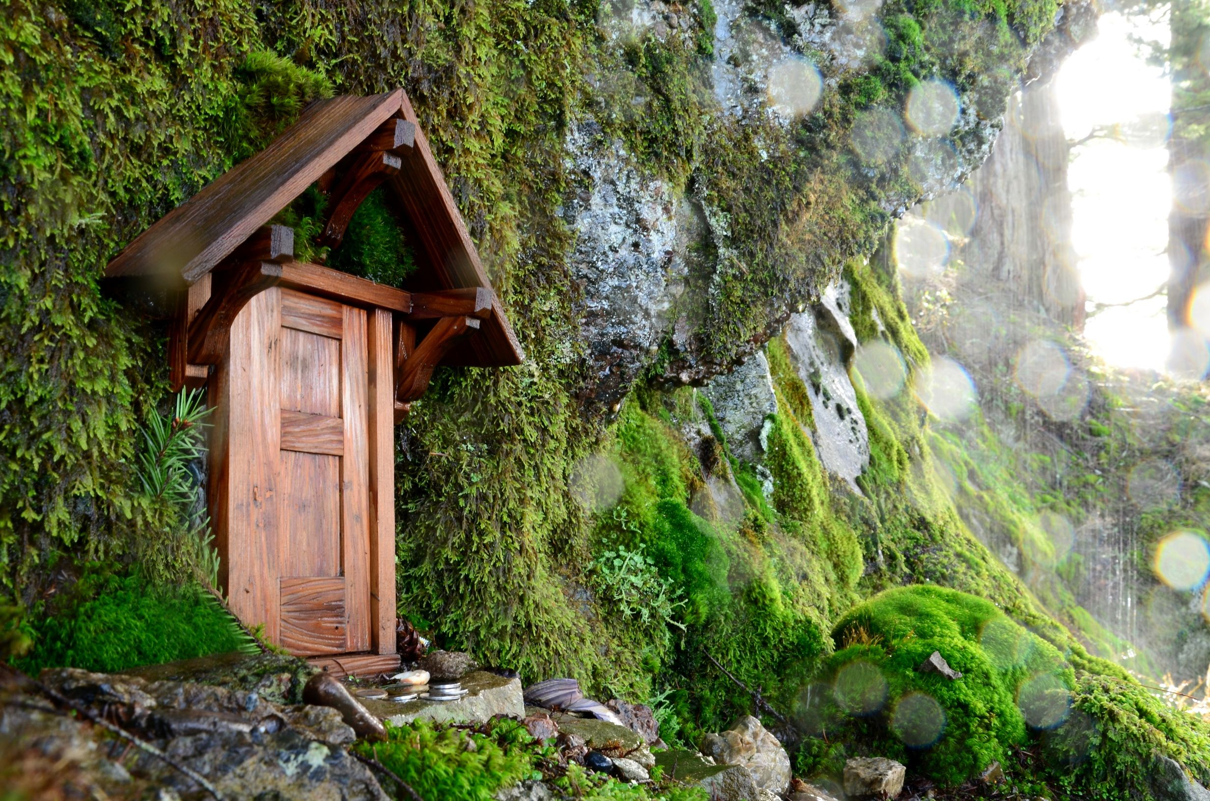 Faerie Door on Mount Erskine & Faerie Door on Mount Erskine | Fairies | Pinterest
