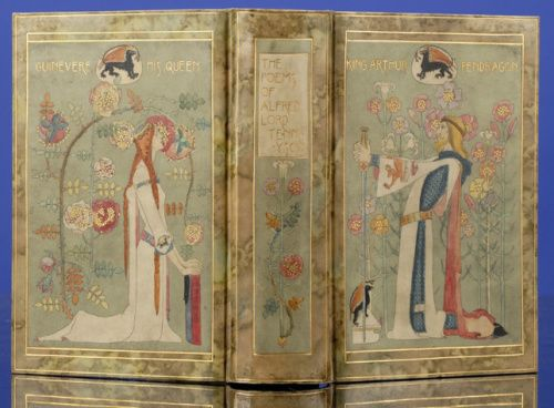 Full cover of The Poems of Alfred, Lord Tennyson (1899)