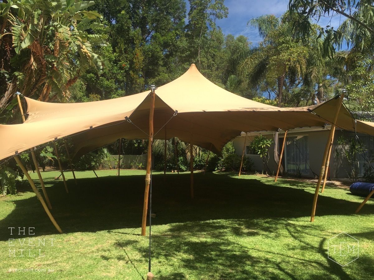 15m x 10m Sand Bedouin Stretch Tent #bedouin #stretch # ...