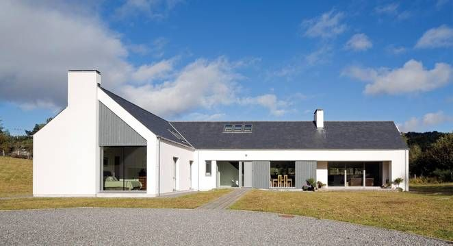 Modern Architecture Scotland scottish passivhaus is full of light and delight | scotland, house
