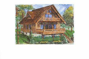 Country Style House Plan 4 Beds 2 5 Baths 2326 Sq Ft Plan 320 1406