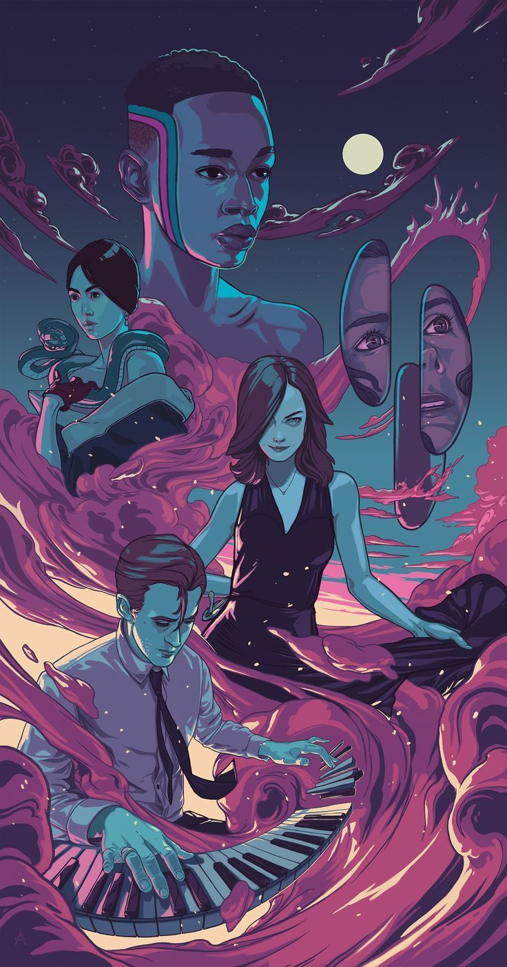 Interview With An Artist Alex Dos Diaz - The Movie Mystique.  Art in illustrator. Vector art. Poster Design.