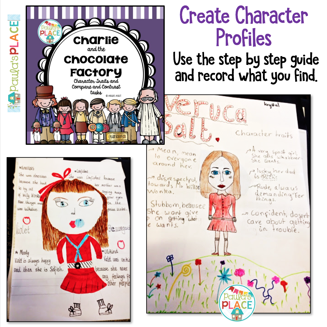 Charlie And The Chocolate Factory Book Study Printables