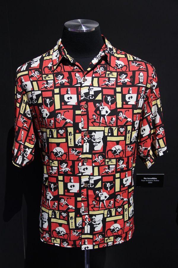 John Lasseter Revealed His Pixar Hawaiian Shirt Collection At D23 ... c3fb918e5