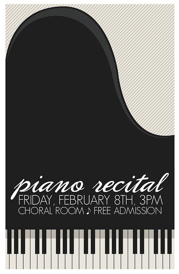 Piano Poster Design