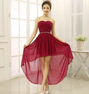 Modelos de vestidos de fiesta con velo