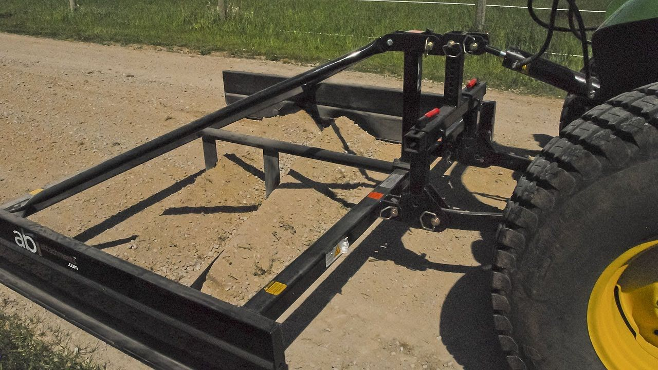 Road Graders For 3-Point Tractor - ABI Attachments   Metal ...