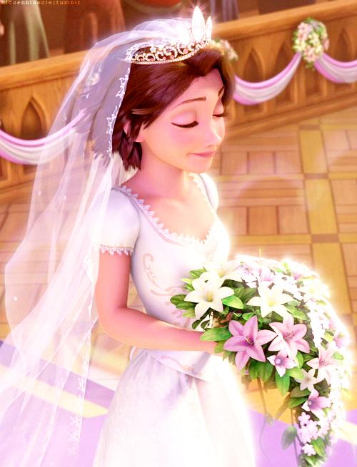 Disney disney princess pinterest le mariage de - Le mariage de raiponse ...