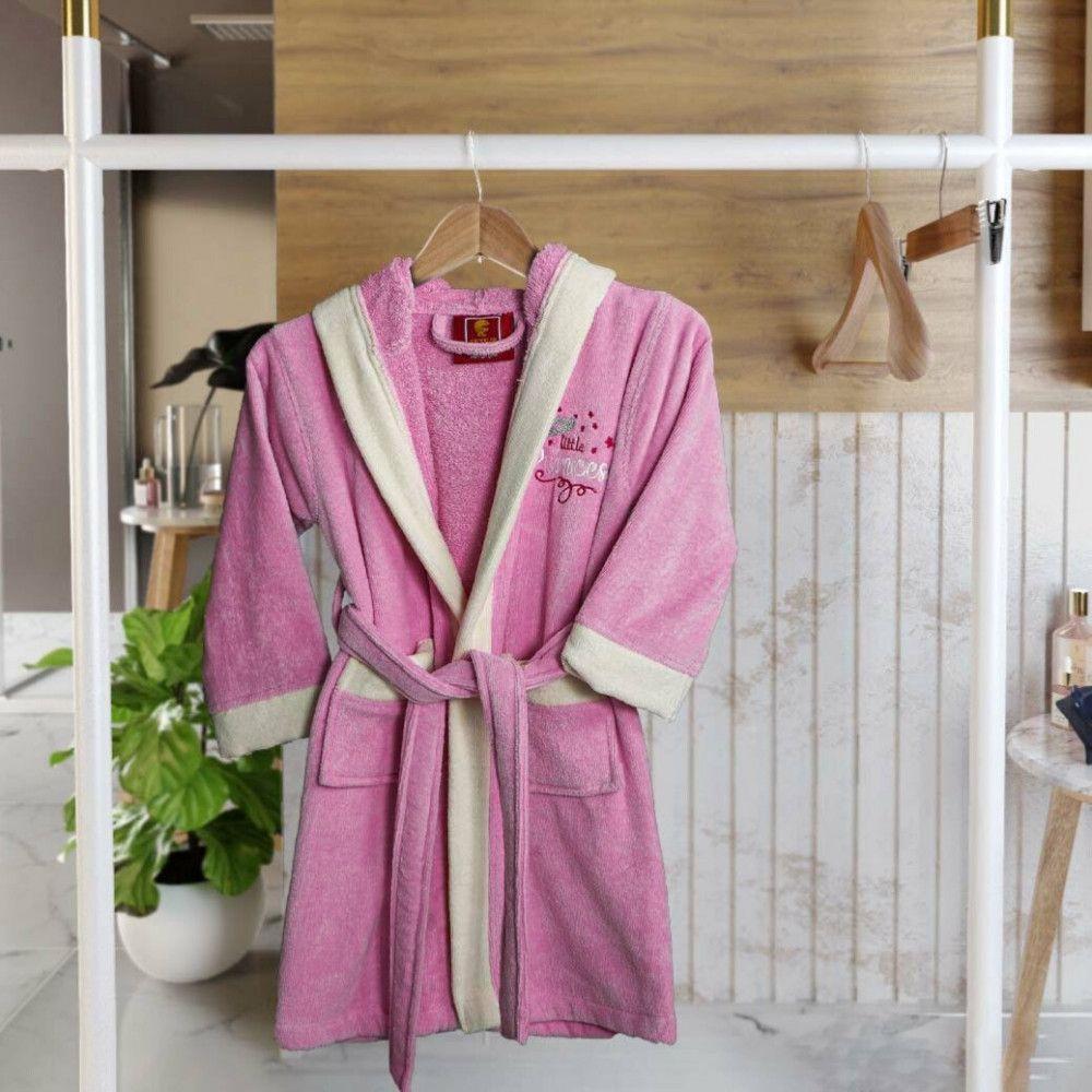 روب إستحمام قطن أطفال بقبعة 11 12سنة وردي غامق مفارش ميلين In 2021 Robe Fashion