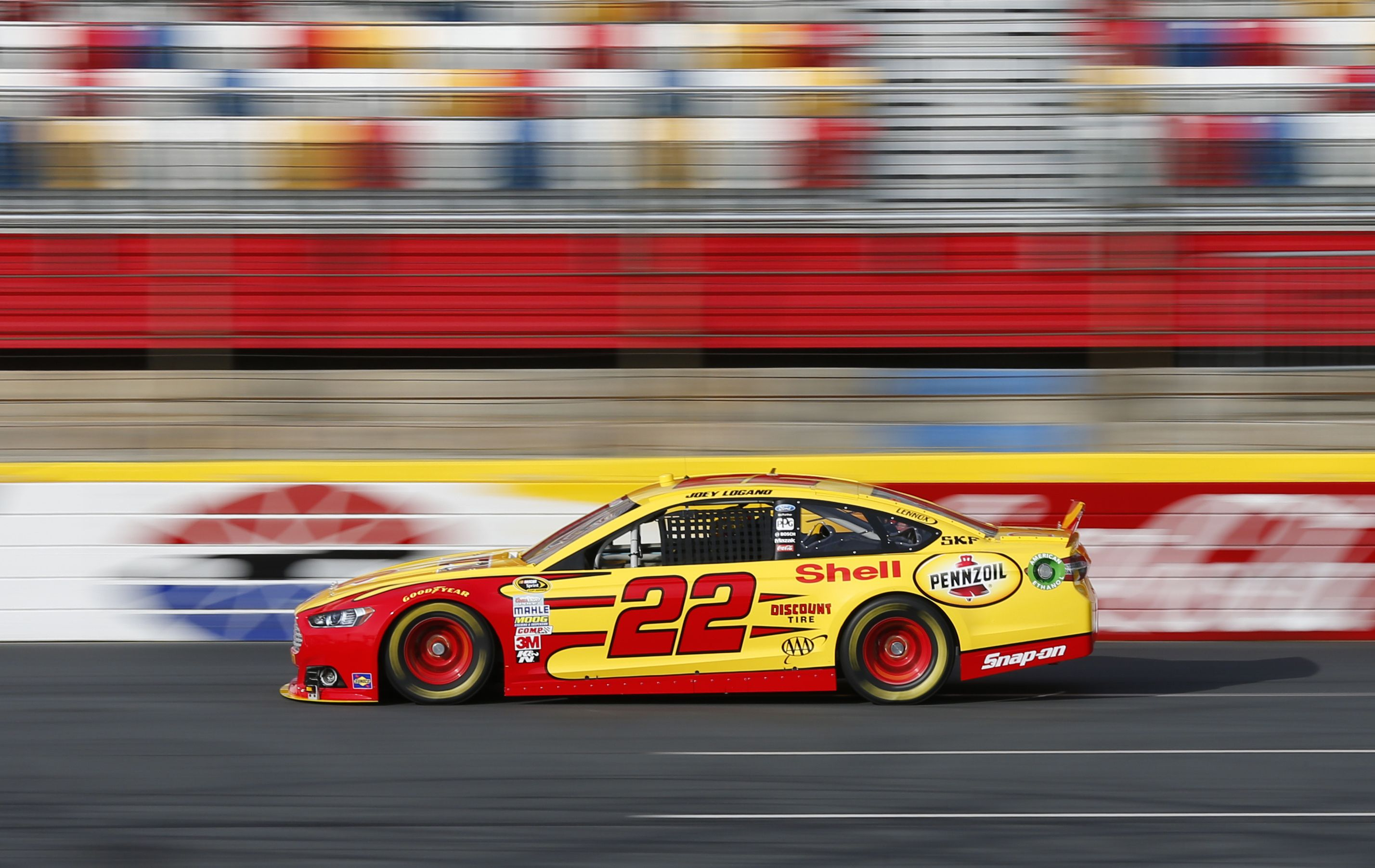 Nascar 2013 this is joey lonago 2013 ford fusion