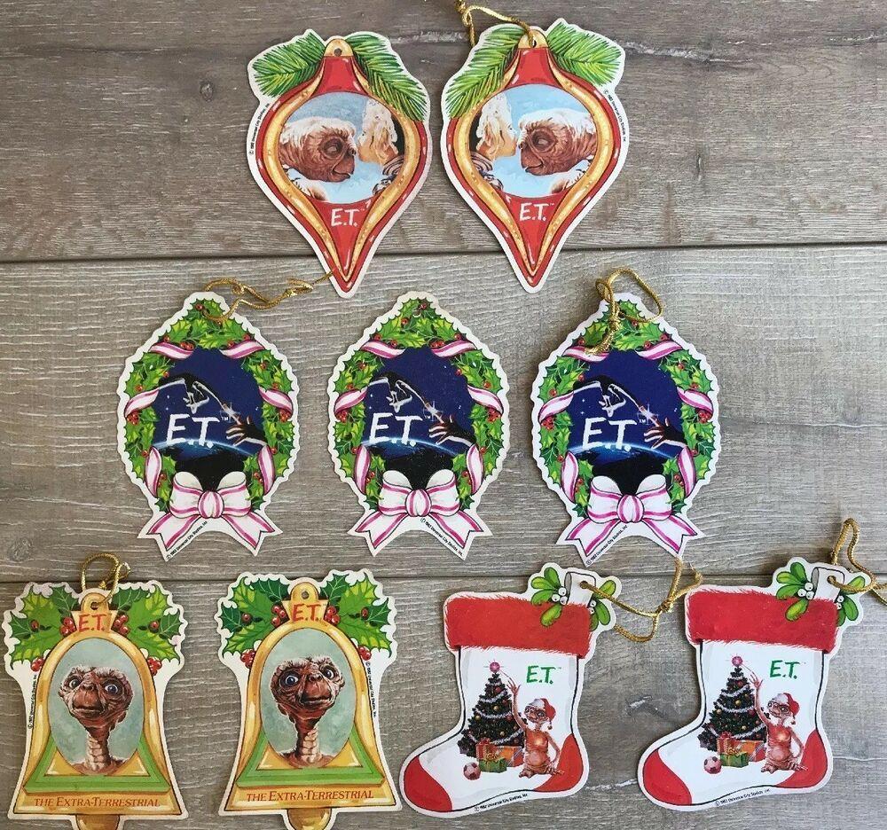 Christmas City Studio.Details About Lot 9 Vintage E T Christmas Ornament 1982