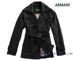 2012 Manteau Armani Homme Pas Cher Hiver Noire   Manteau Armani ... 1f7cec4848e