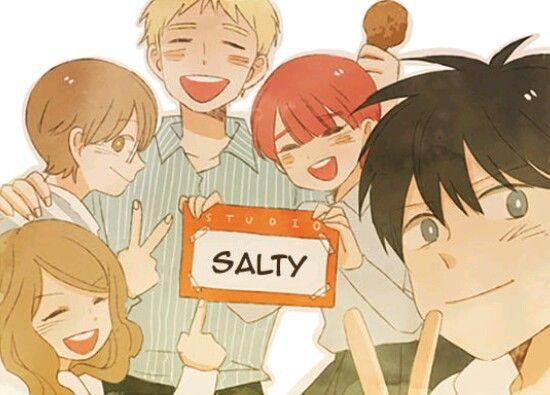 Salty Studio   Webtoon comics, Webtoon, Cute love stories