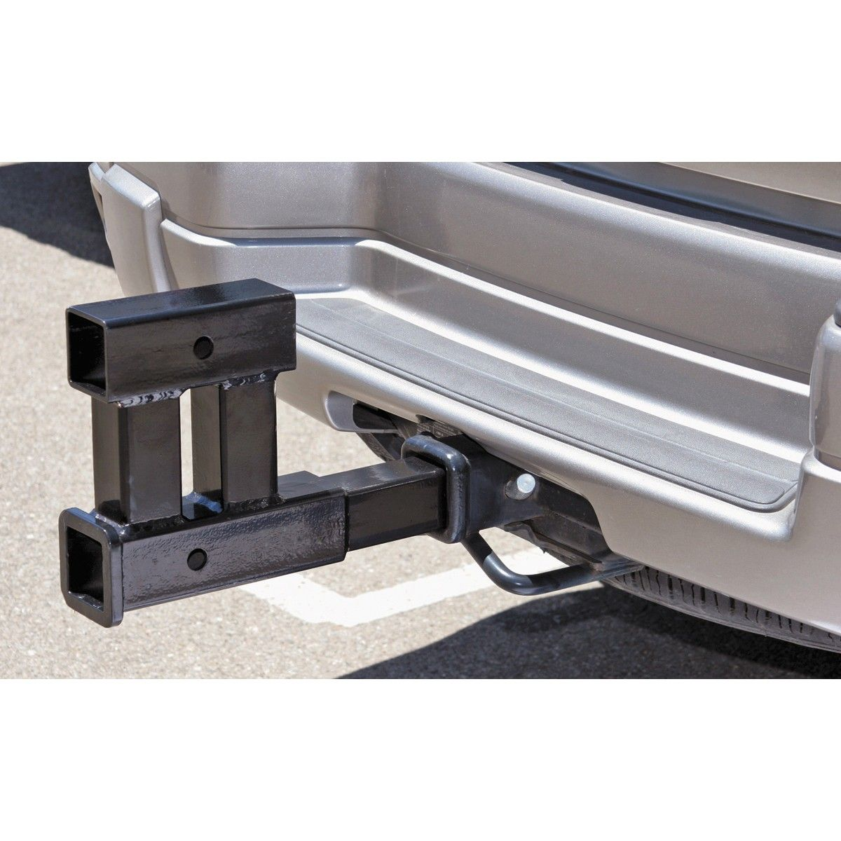 Dual Hitch Extender Hitch accessories, Trailer, Cargo rack