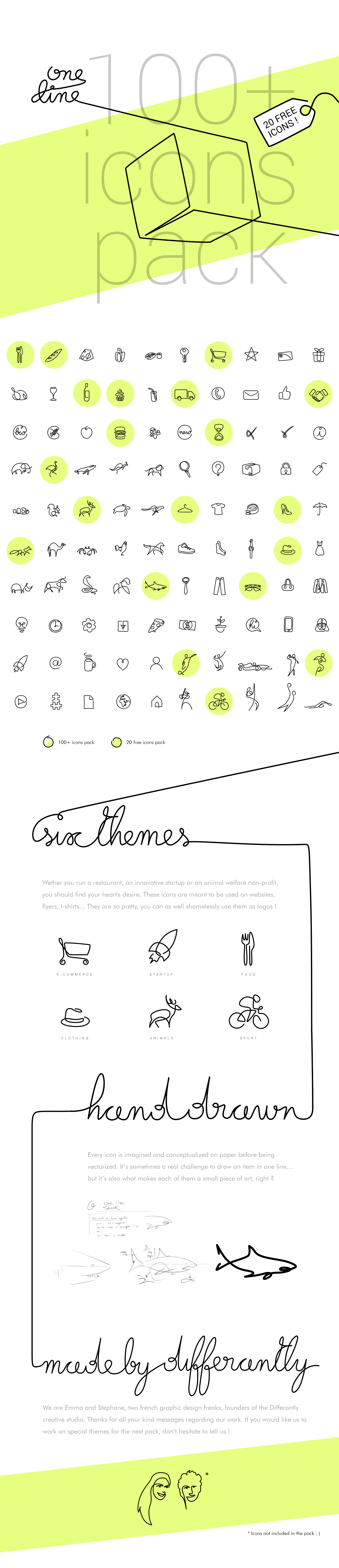 https://www.behance.net/gallery/29066531/One-line-100-icons-pack-FREE-sample
