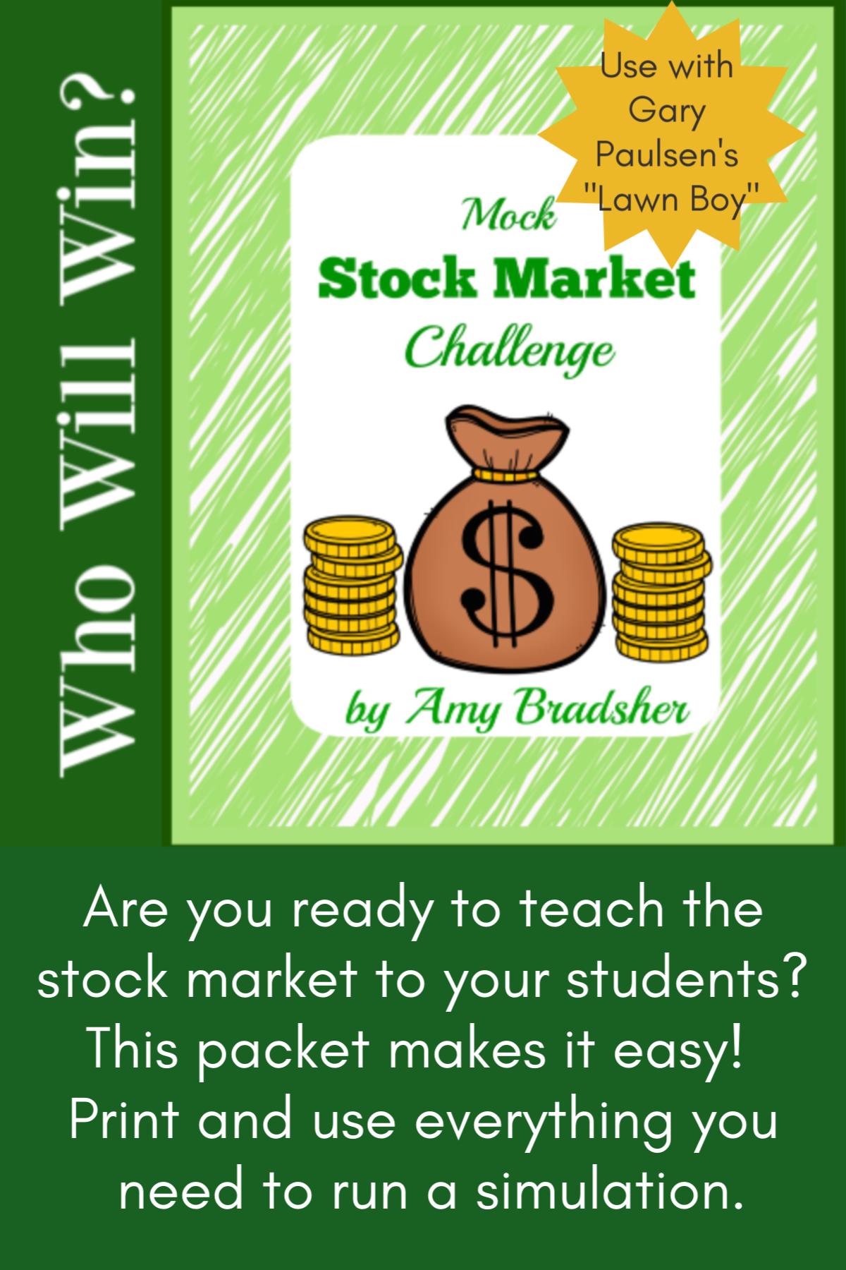 Stock Market Simulation Challenge I Digital Learning Creative Writing Prompts Creative Teaching Economics For Kids [ 1800 x 1200 Pixel ]