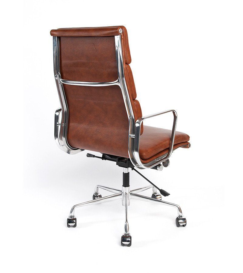 mid aluminum office chair white italian. this superbly crafted reproduction of the ea219 high back is finished in luxurious italian leather and office chairoffice mid aluminum chair white