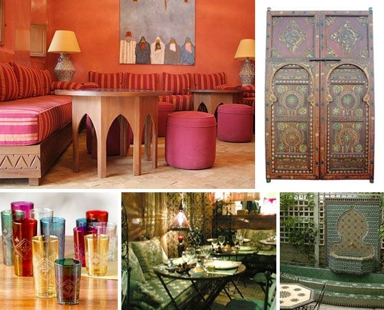 Marruecos casa y cosas pinterest marruecos rosas y caf - Decoracion marruecos ...