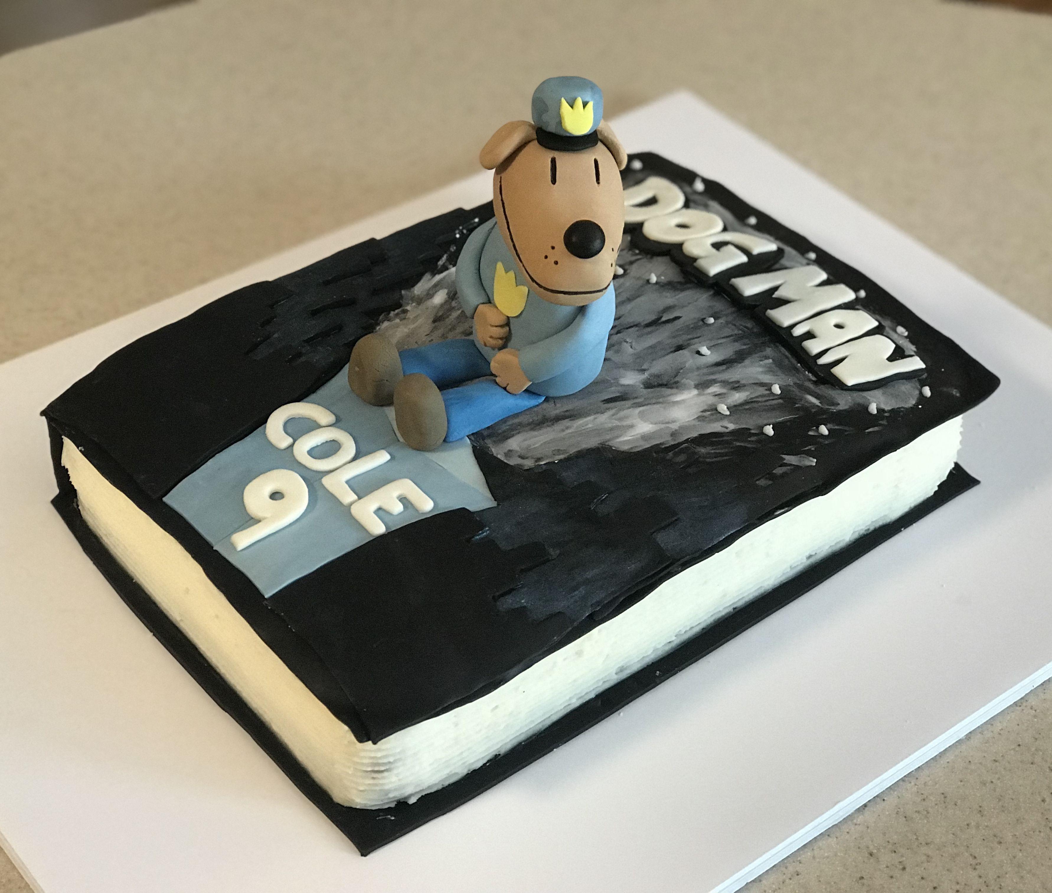 Remarkable Dogman Birthday Cake With Images Cake Designs Birthday Mens Personalised Birthday Cards Veneteletsinfo