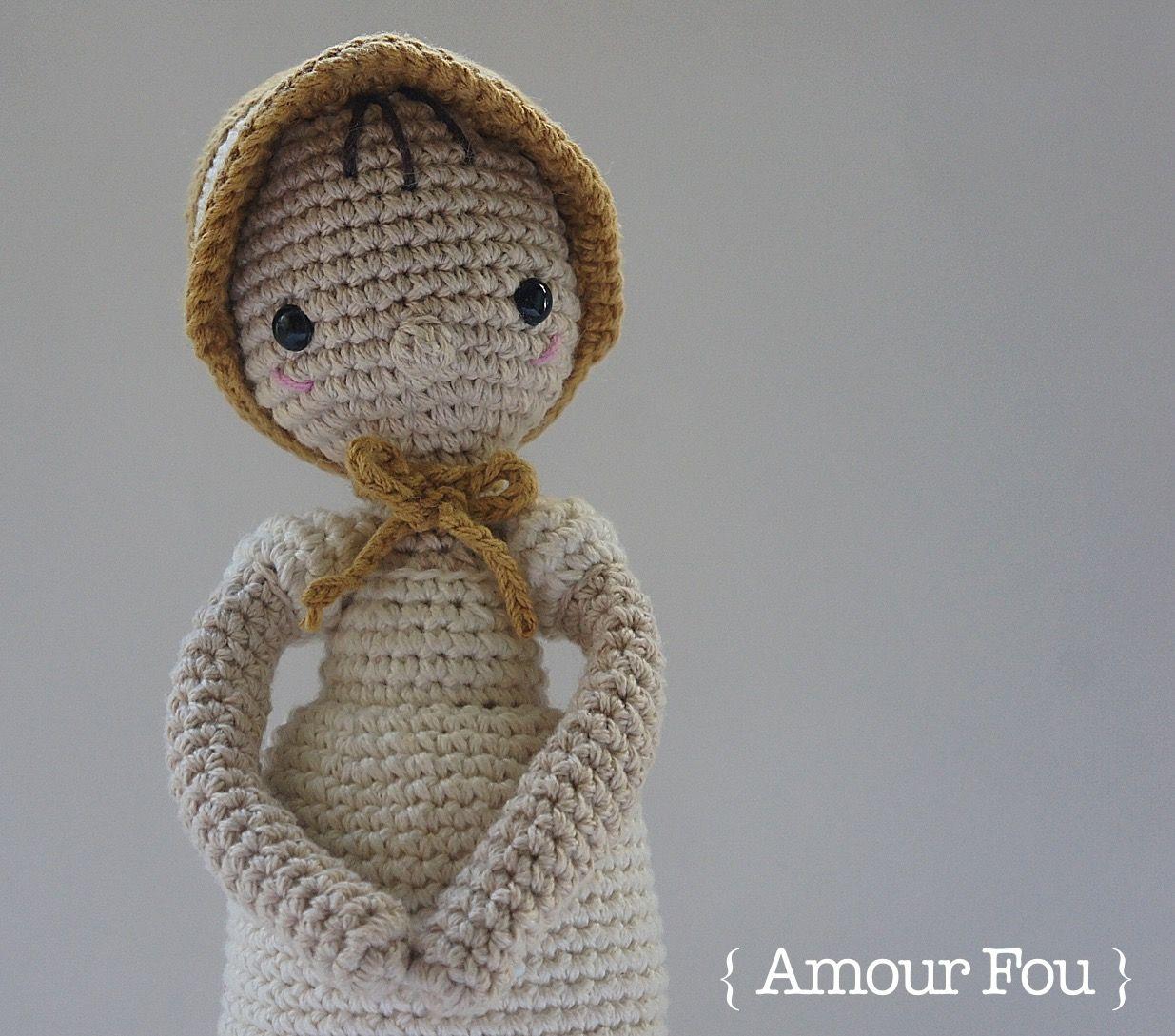 Elizabeth Bennet, from Jane Austen\'s Pride & Prejudice - Crochet ...