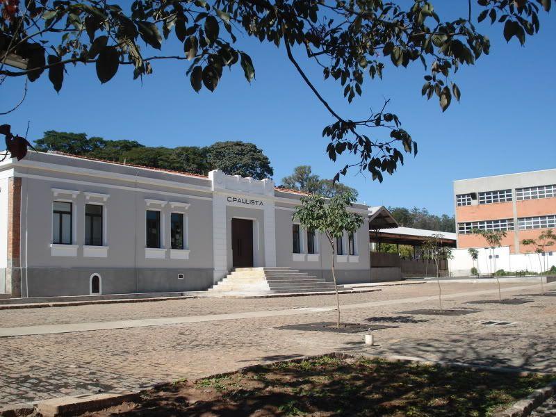 Arara (SP) - antiga estação ferroviária, atual Centro Cultural