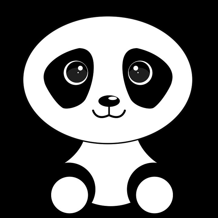 Pin By ריהאם נח ליعت On Animal Portraits Panda Background Panda Art Cartoon Panda
