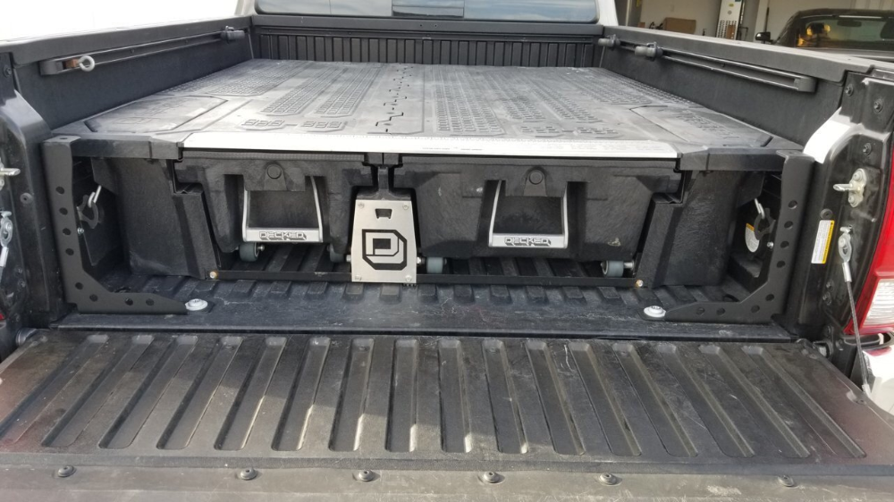Cali Raised Truck Bed Channel Supports Toyota