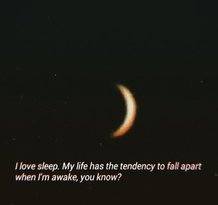 ?I love sleep. My life has the tendency to fall apart when I'm awake, you… #loveaesthetics