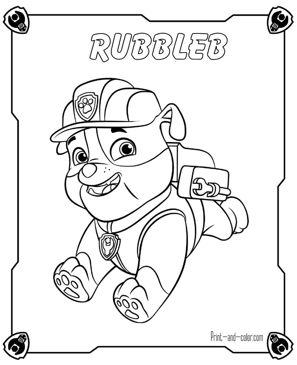 Ausmalbilder Paw Patrol Kostenlos : There Are Many High Quality Paw Patrol Coloring Pages For Your Kids