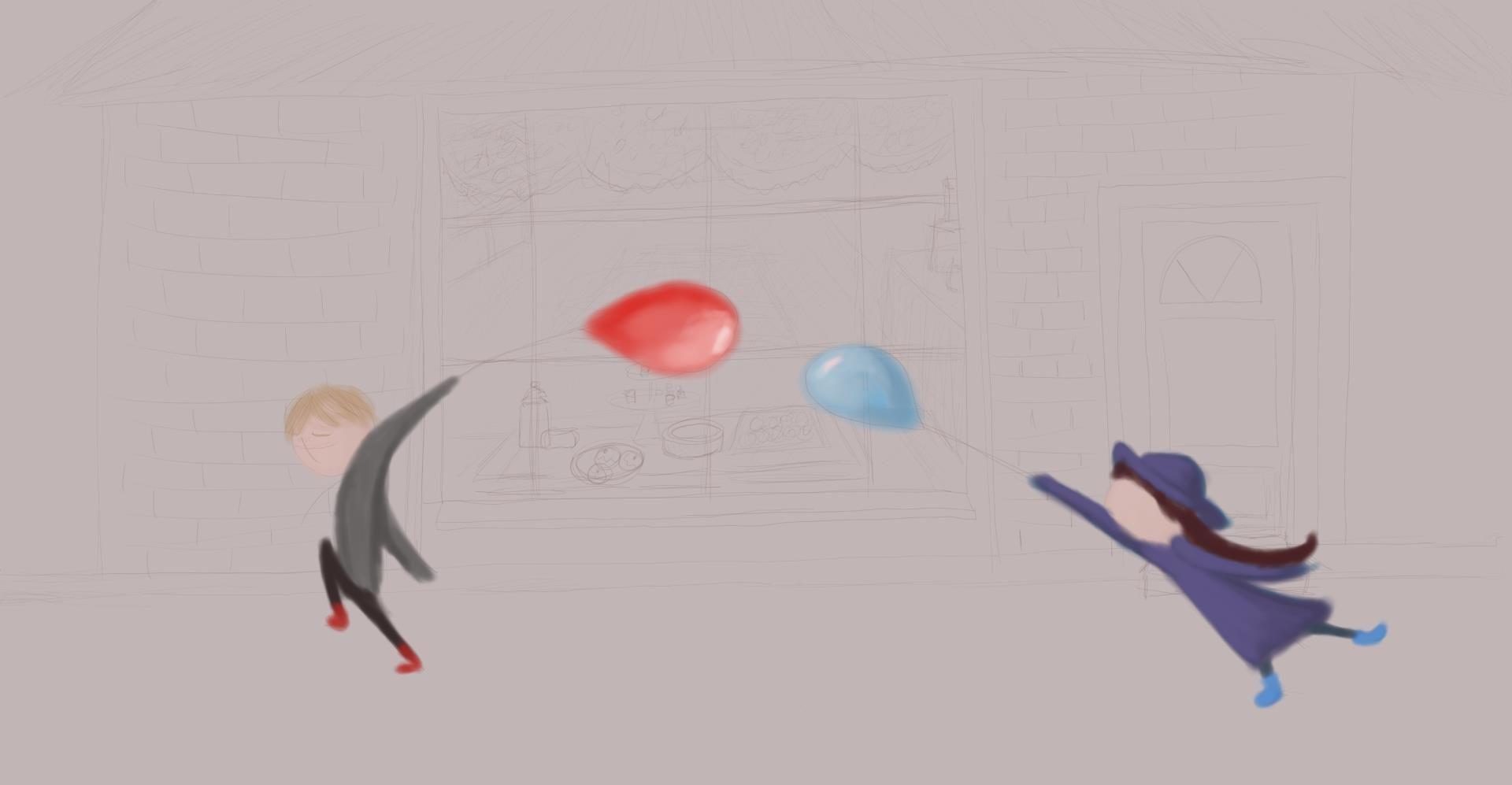 Balloons the little red balloon debbies animation pinterest