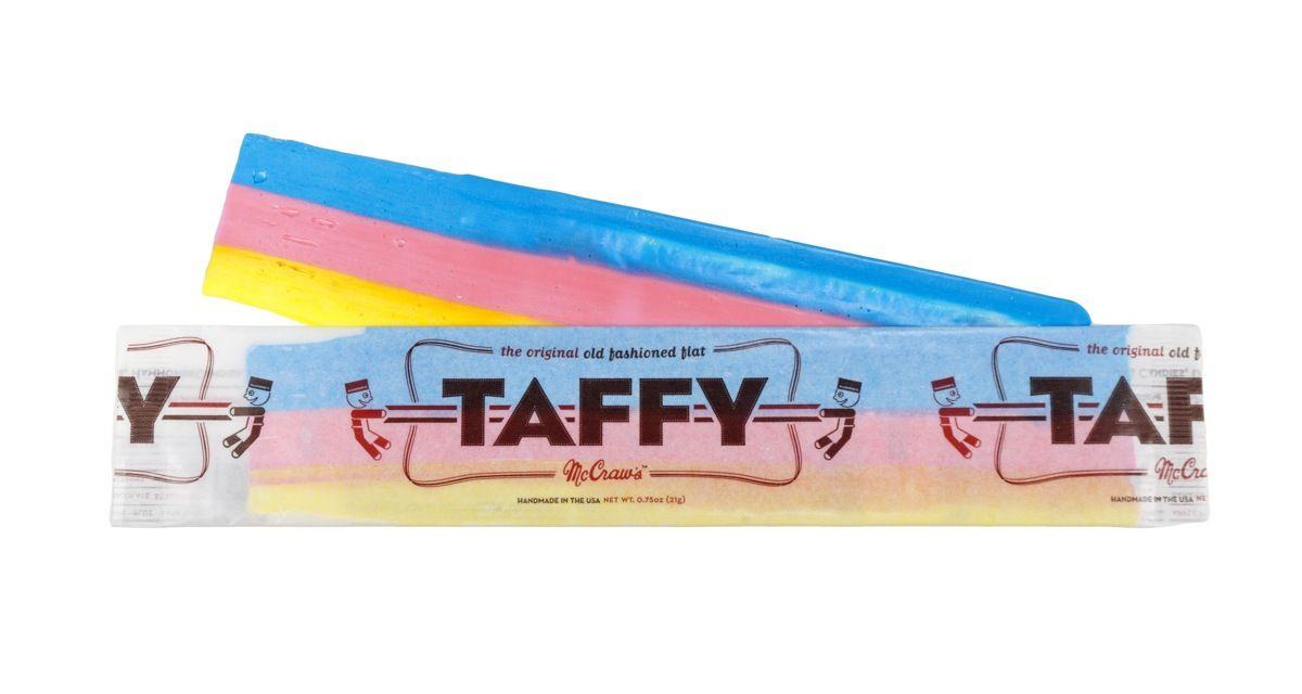 Rainbow Orange-flavored Taffy