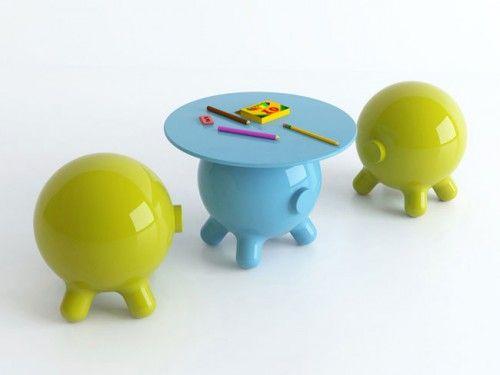 Wonderful Funny Pogo Table By Joel Escalona Awesome Ideas